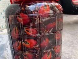 海南文昌红树林野生毛蟹腌制好吃吗?