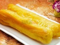 在海南,油条的几种吃法...